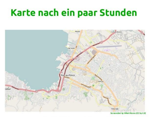 Karte nach ein paar Stunden Screenshot by Mikel Maron (CC by 2.0)