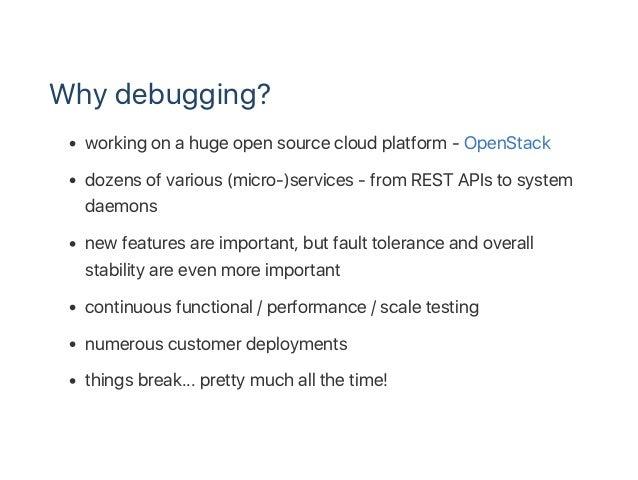 Debugging Python with gdb Slide 3