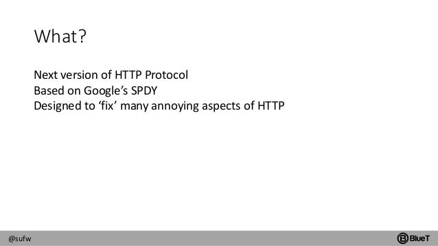 HTTP/2 and SAP Fiori Slide 2