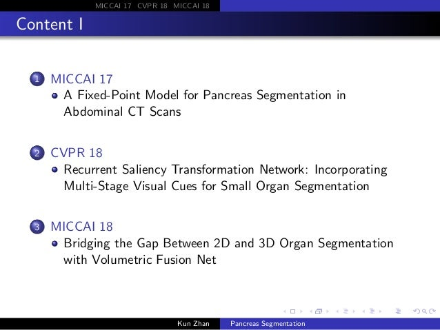 Pancreas Segmentation Slide 2