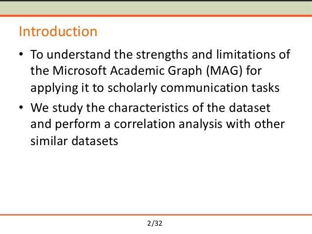 An Analysis of the Microsoft Academic Graph Slide 2