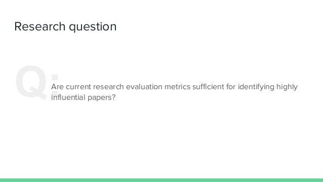 Do Citations and Readership Predict Excellent Publications? Slide 2