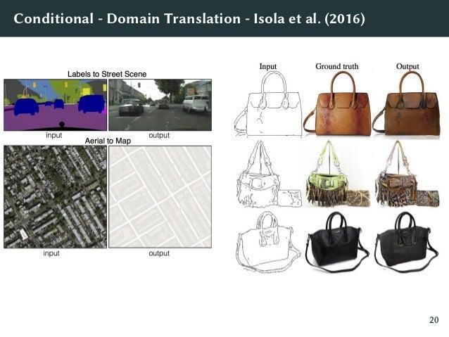 Conditional - Image Super Resolution - Ledig et al. (2016) 22