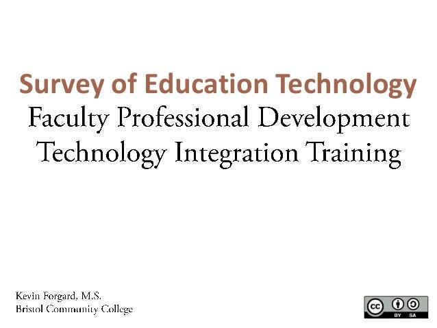 Survey of Education Technology