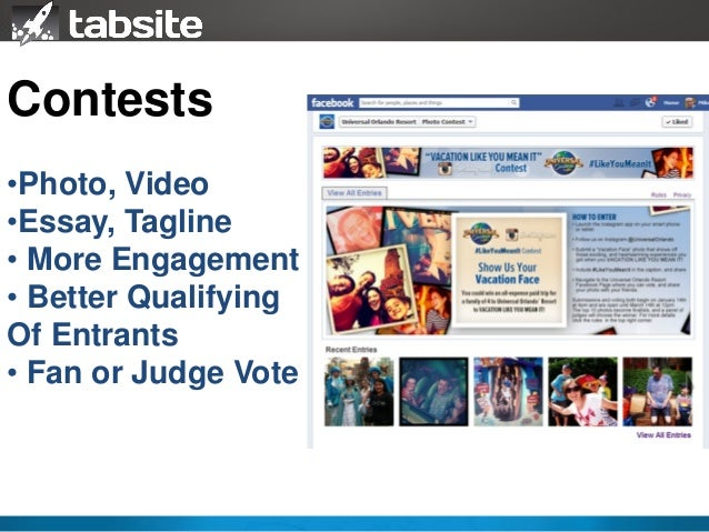 essay contest promotion Votigo is the easiest and most customizable contest platform on the web.