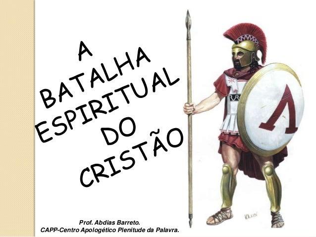 Prof. Abdias Barreto.CAPP-Centro Apologético Plenitude da Palavra.