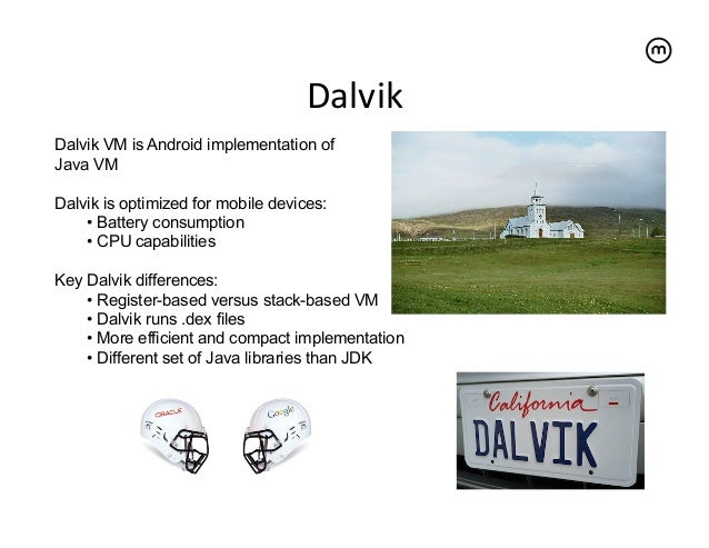 Stack Based vs Register Based Virtual Machine Architecture, and the Dalvik VM