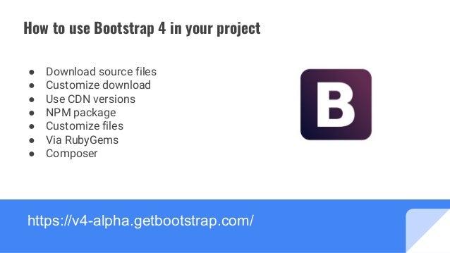 Slides bootstrap-4