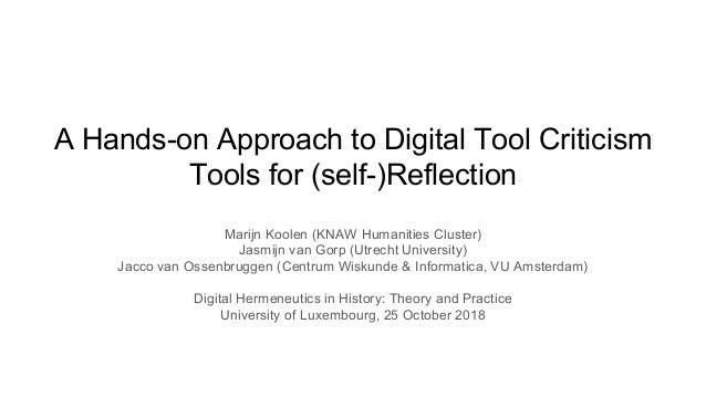 Marijn Koolen (KNAW Humanities Cluster) Jasmijn van Gorp (Utrecht University) Jacco van Ossenbruggen (Centrum Wiskunde & I...