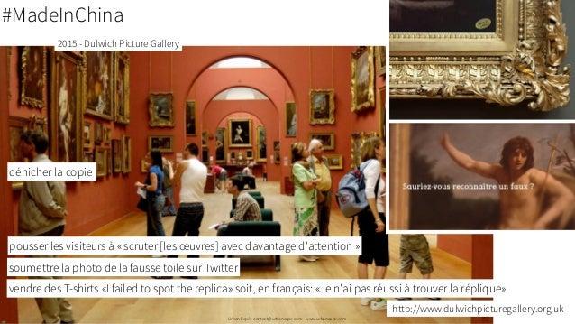 Viser une expérience mémorable (Sylvie Daumal) o Simple (plusieurs parties plutôt qu'une complexe). o Inattendu o Concret ...