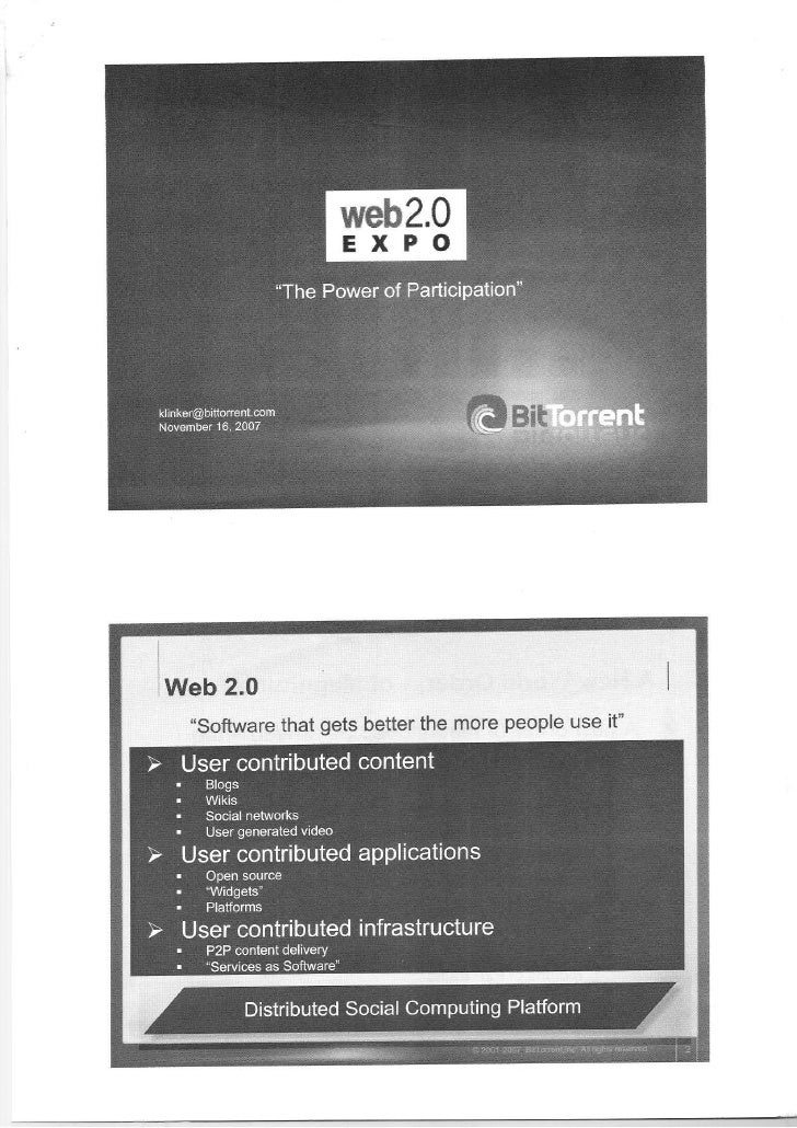 Slides from Web2Expo Tokyo (front side)