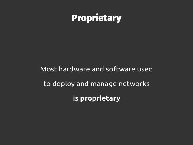 Opening proprietary networks with OpenWISP Slide 3