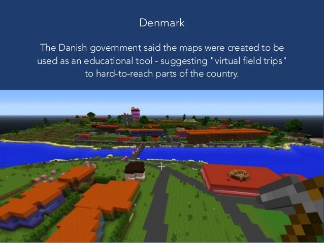 Exploring the Minecraft world using real world topographical data