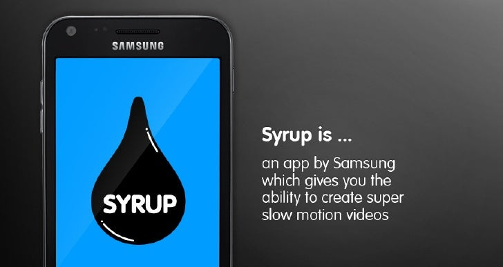 SYRUP for SAMSUNG (HYPER ISLAND student project)