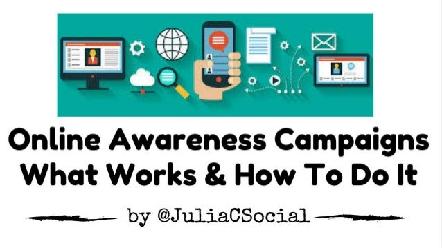 ** The webinar will start at 2 minutes after the hour ** Presenter: Online Awareness Campaigns for Your Nonprofit – What W...