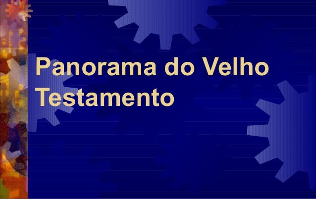 Panorama do VelhoTestamento