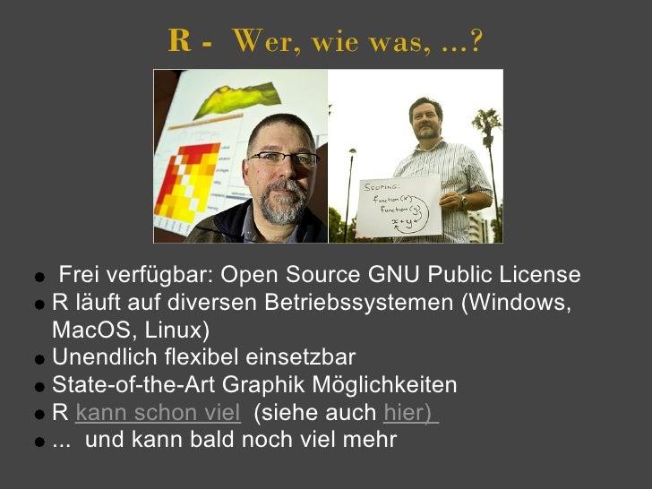 Übersicht Glm Workshop 2009 Slide 2