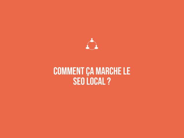Tous les éléments d'un site web peuvent être adaptés au local.  Domaine (attention aux EMD)  Structure  URLs  Navigati...