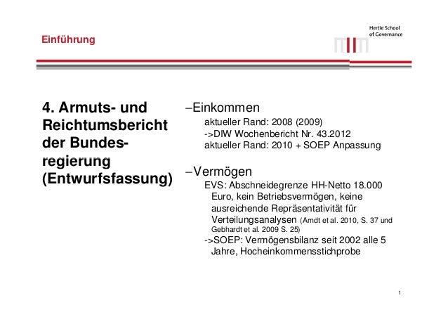 Einkommens- und Vermögensverteilung in Deutschland Slide 2
