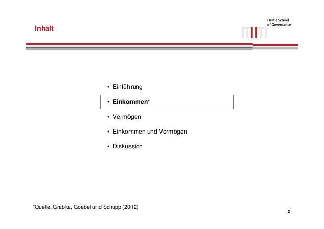 Einkommens- und Vermögensverteilung in Deutschland Slide 3
