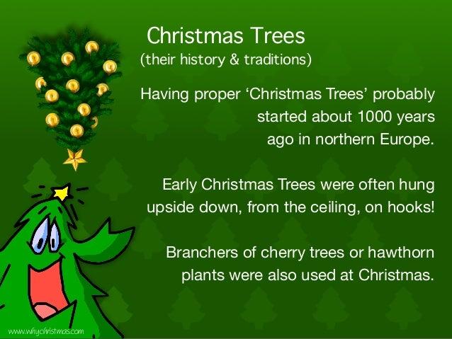 Christmas Traditions: Christmas Trees