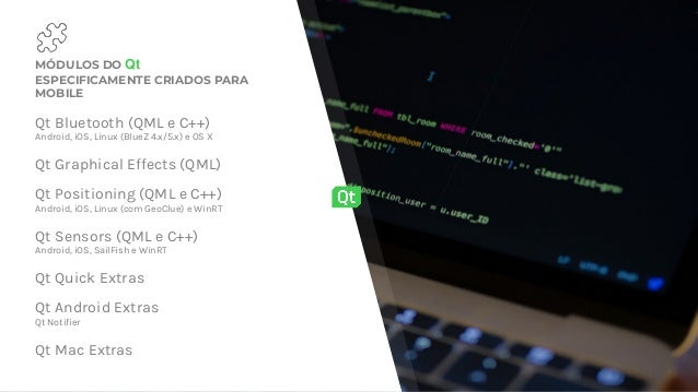 Webinar: Qt: um toolkit, um código-fonte, múltiplas plataformas