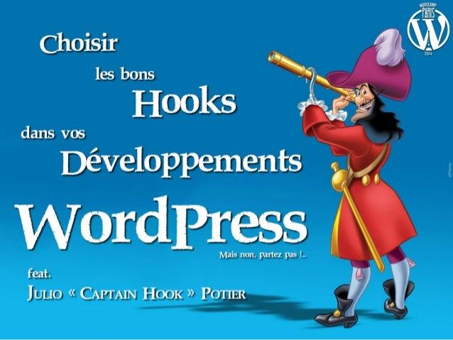 Choisir les bons Hooks dans vos Développements WordPress