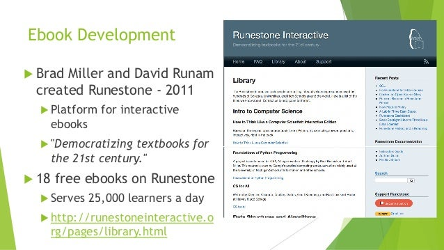 An Analysis of Interactive Feature Use in Two Ebooks Slide 2
