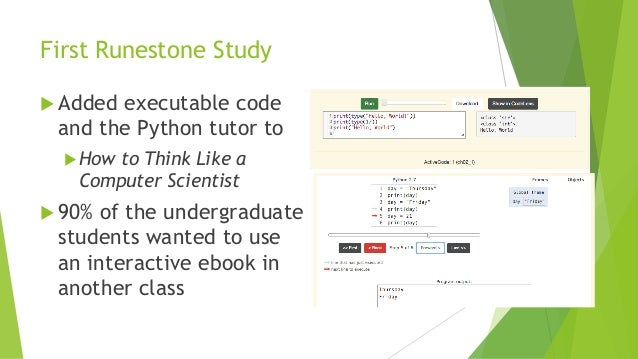 An Analysis of Interactive Feature Use in Two Ebooks Slide 3