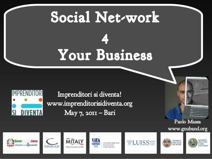 Social Net-Work     Social Net-work             4             4       Your Business       Your Business      Imprenditori ...