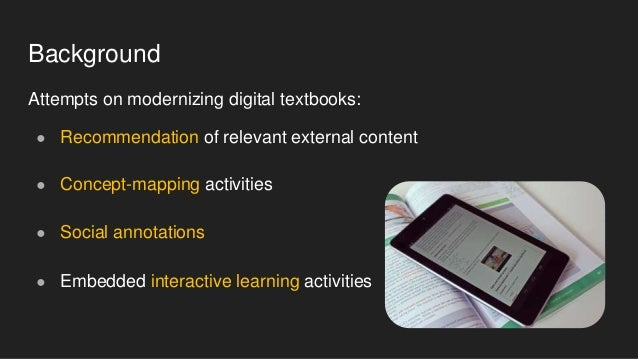 Reading Mirror: Social Navigation and Social Comparison for Electronic Textbooks Slide 2