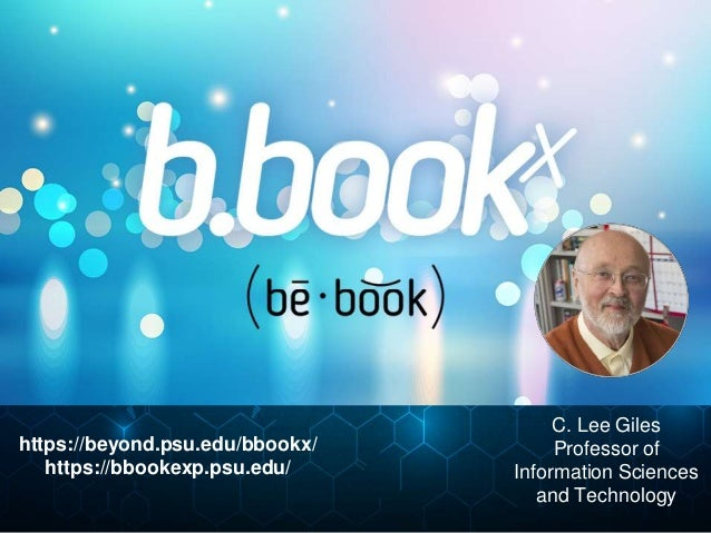 BBookX: Creating Semi-Automated Textbooks to Support Student Learning and Decrease Student Costs  Slide 2