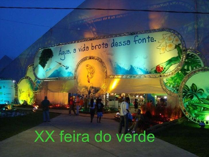XX Feira do Verde