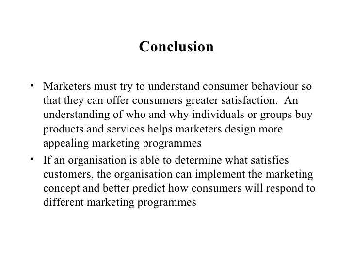 conclusion of consumer buying behaviour Consumer buying behaviour essays: over 180,000 consumer buying behaviour essays, consumer buying behaviour term papers, consumer buying behaviour research paper, book.
