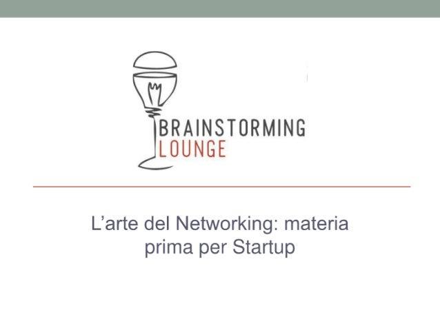 Brainstorming Lounge - 25 Nov 2010 - Andrea Parmeggiani