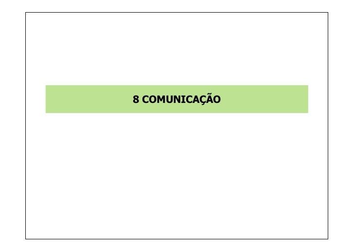 8 COMUNICAÇÃO