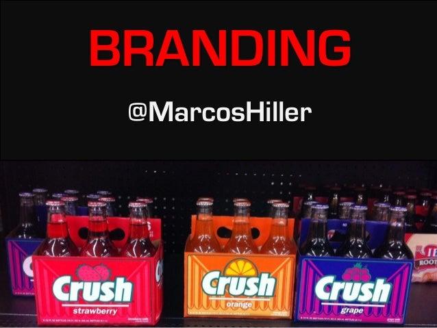 BRANDING@MarcosHiller