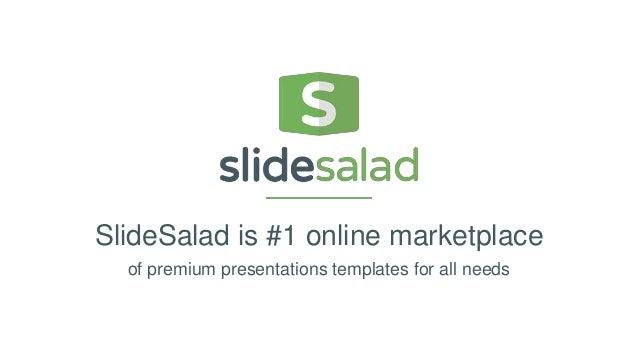 slidesalad free powerpoint presentation template, Presentation templates