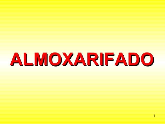 ALMOXARIFADO           1