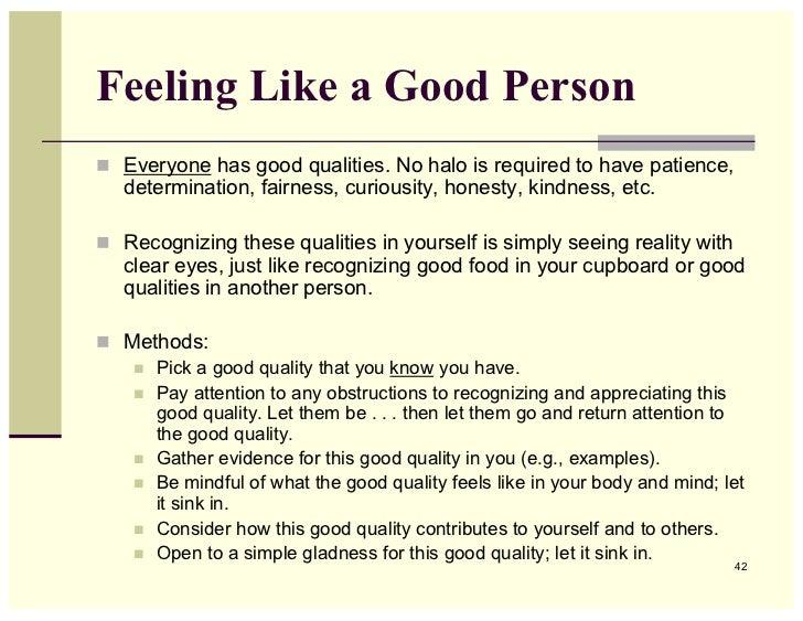 Good Person Essay | Mistyhamel