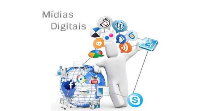 Mídia digital é um  formato de mídia eletrônica onde os dados são armazenados  em formato digital. Pode referir-se ao aspe...