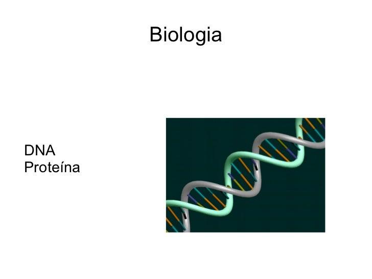 BiologiaDNAProteína