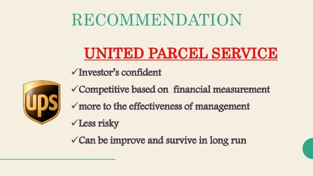 development of united parcel service In march 2005, ceo michael eskew has asked the corporate strategy group to recommend changes to the strategic process to ensure it allows united parcel service (ups) to continue to transform itself over the next several years describes the evolution of ups's strategic process, with special.