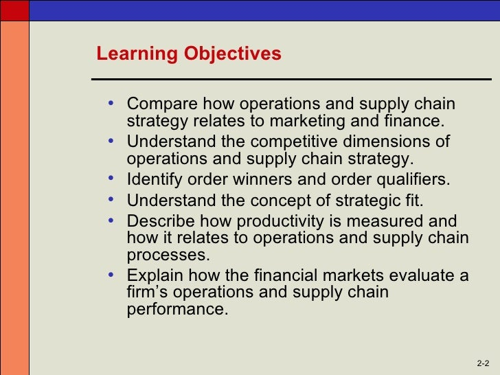 chapter 1 operations and supply chain Dba 8475, operations and supply chain management 1 course description explores the fundamental issues and recent developments in operations management, including manufacturing and service management, supply chain management chapter 1: operations and.