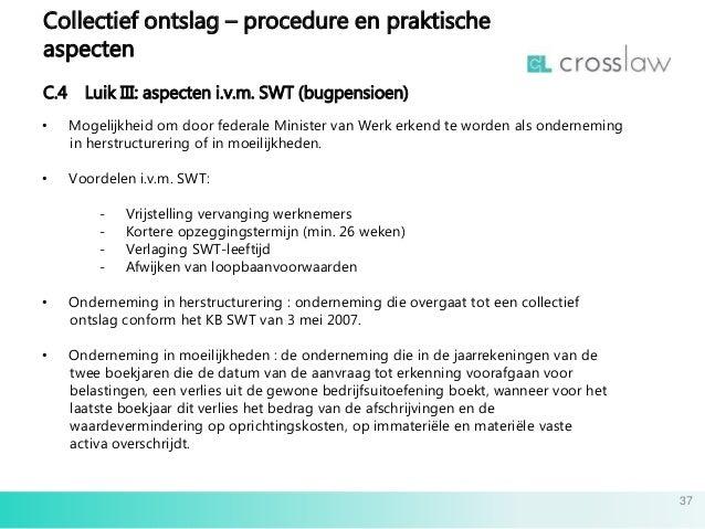c4 ontslagbrief Slides collectief ontslag 08032016 nl c4 ontslagbrief