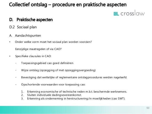 bevestiging ontslagbrief Slides collectief ontslag 08032016 nl bevestiging ontslagbrief