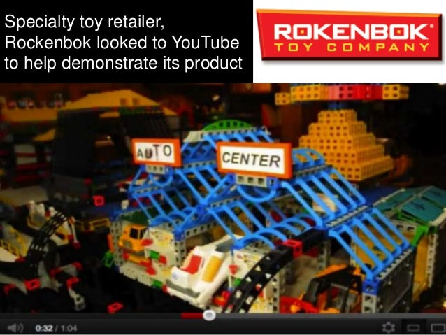 Rokenbok created YouTube videos both to entertain and demonstrate the products. Then customers started creating their own ...