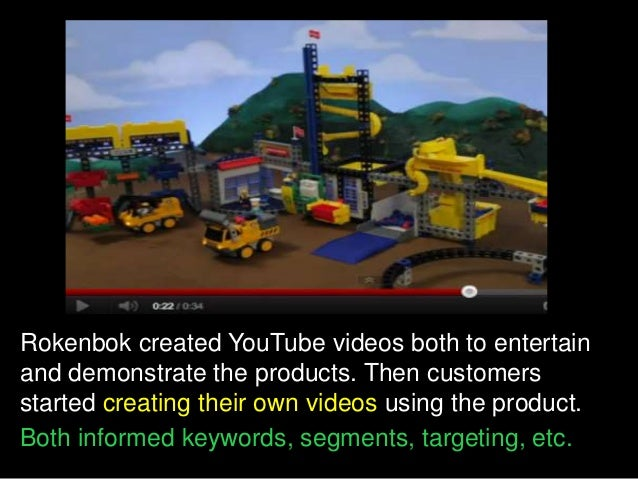Rockenbok's online video strategy helped transformed their business model from bricks-and-mortar to e-commerce of Rokenbok...