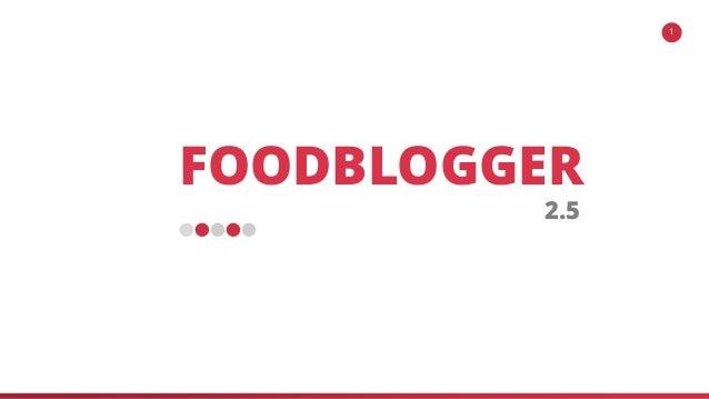 FOODBLOGGER 2.5 1