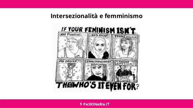 PASIONARIA.IT Intersezionalità e femminismo